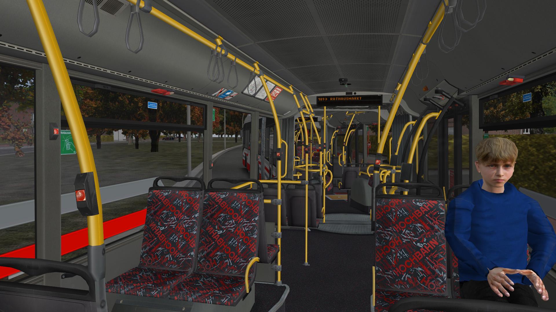 OMSI 2 Add-On Doppelgelenkbus AGG 300 screenshot