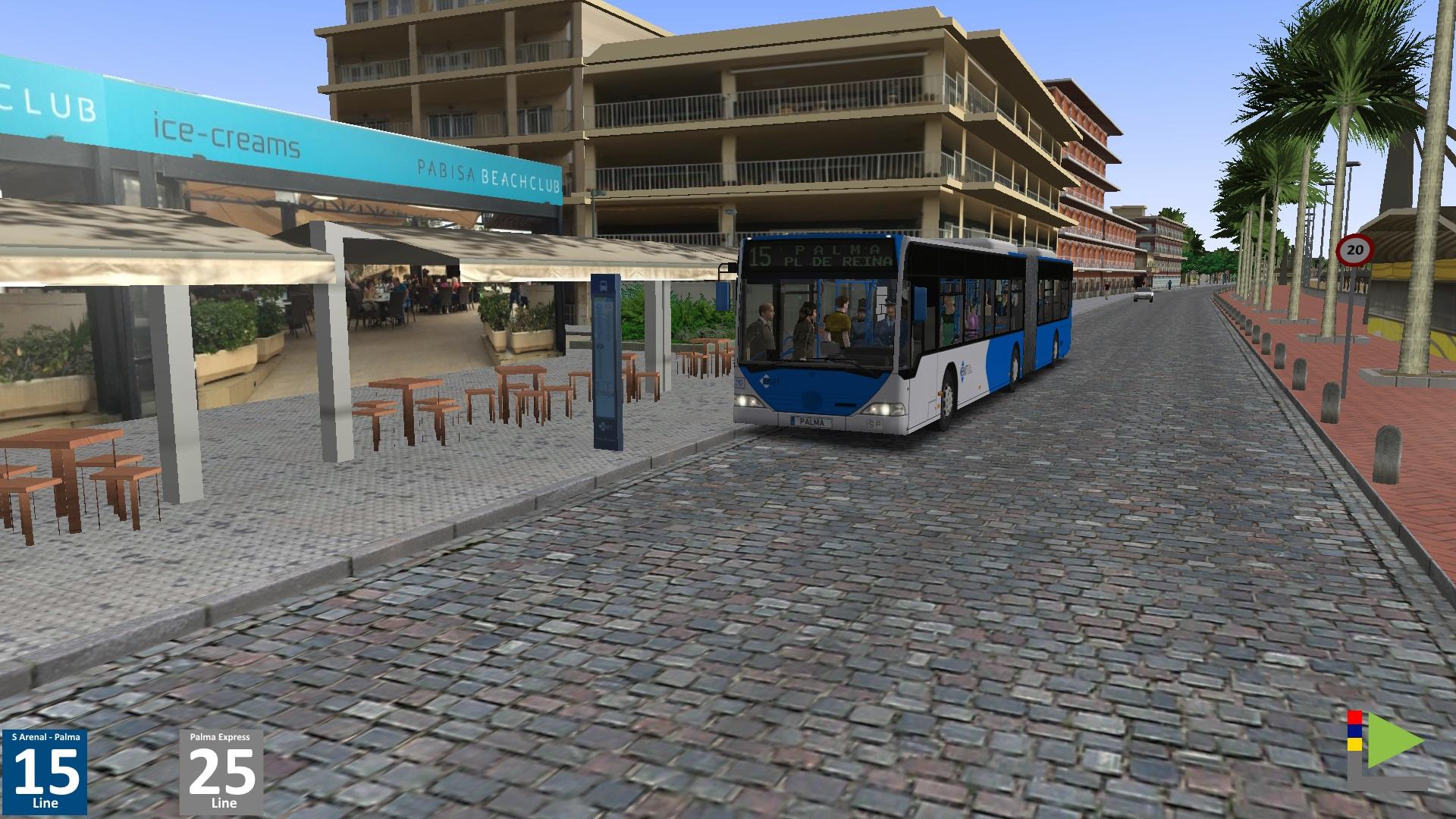 OMSI 2 Add-On Mallorca screenshot