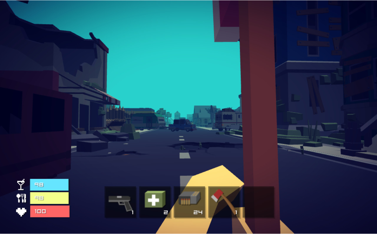 Pixel Z - Gun Day screenshot