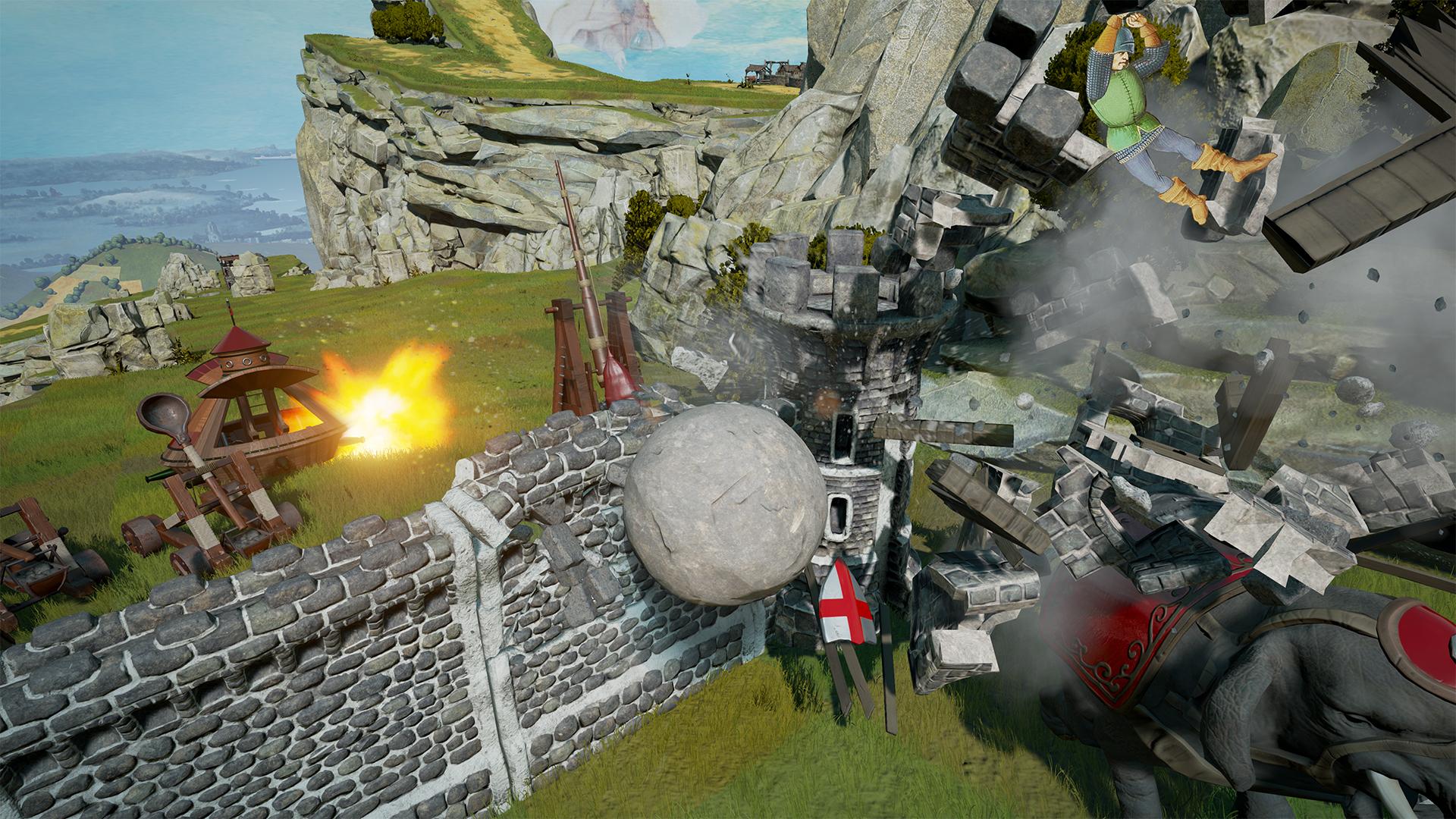 Rock of Ages 2: Bigger & Boulder screenshot