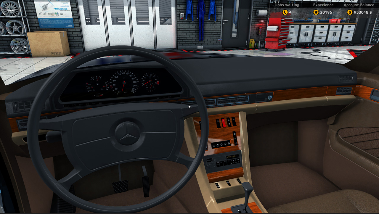 car mechanic simulator 2015 mercedes benz failmid. Black Bedroom Furniture Sets. Home Design Ideas