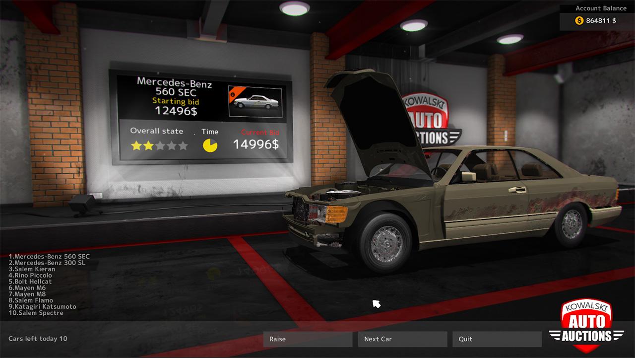 Car mechanic simulator 2015 mercedes benz failmid for Mechanic for mercedes benz