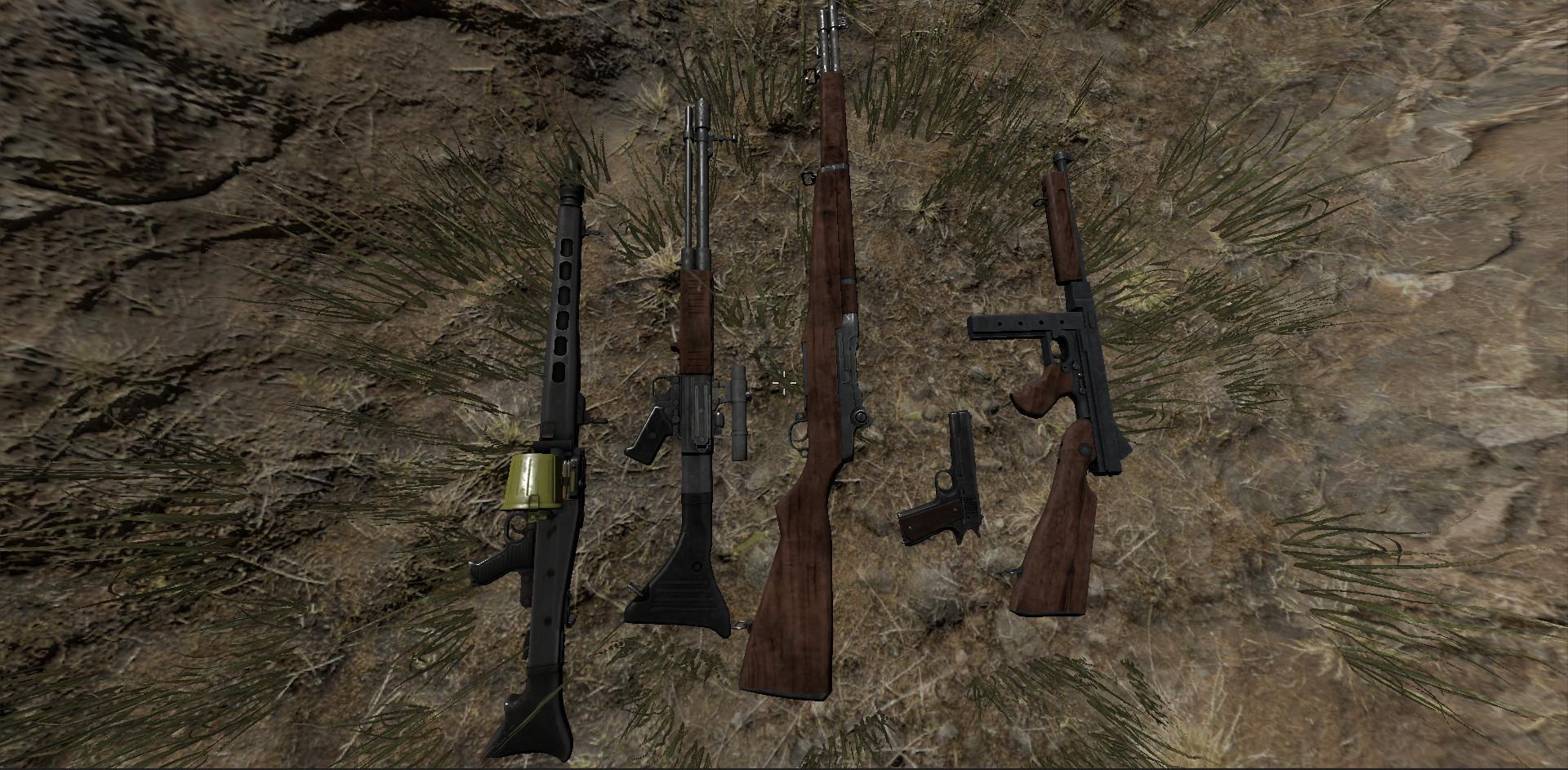 Dinosaur Hunt - WW2 War Expansion Pack screenshot