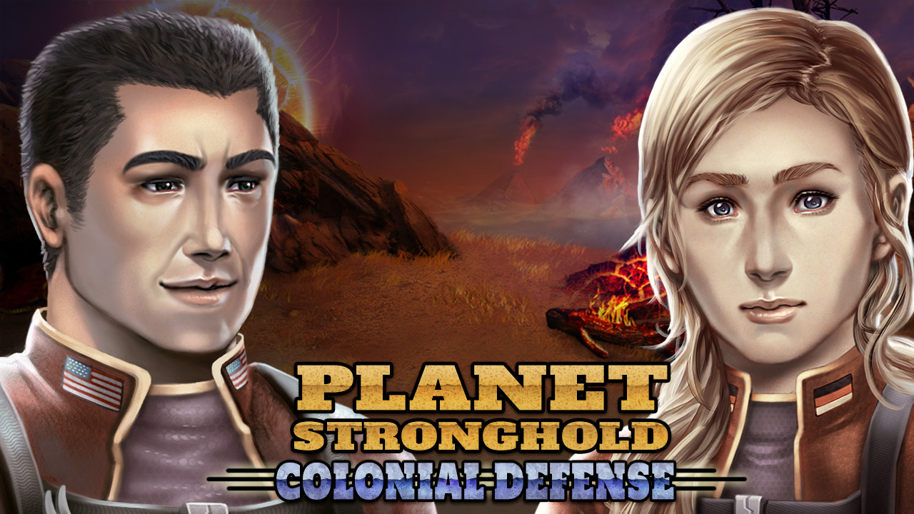 Planet Stronghold: Colonial Defense screenshot