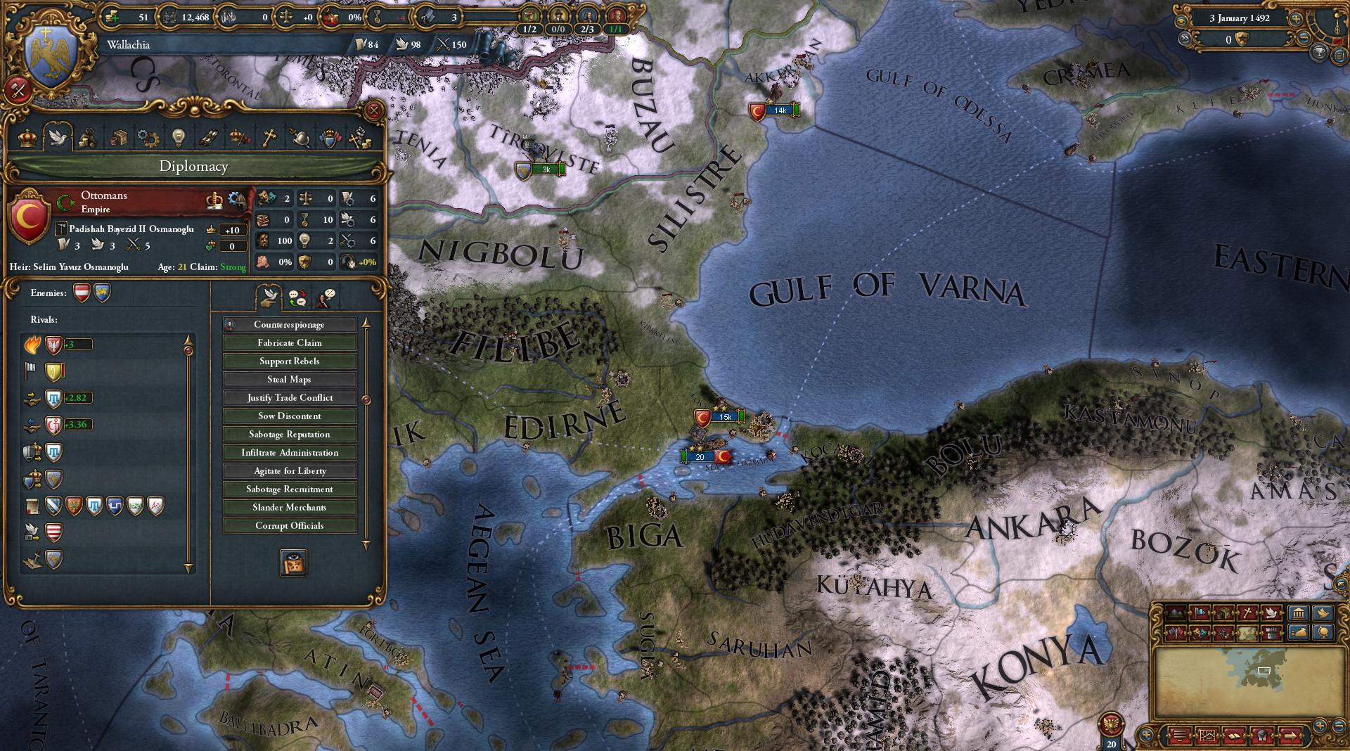 Europa Universalis IV Mare Nostrum Gameplay 4