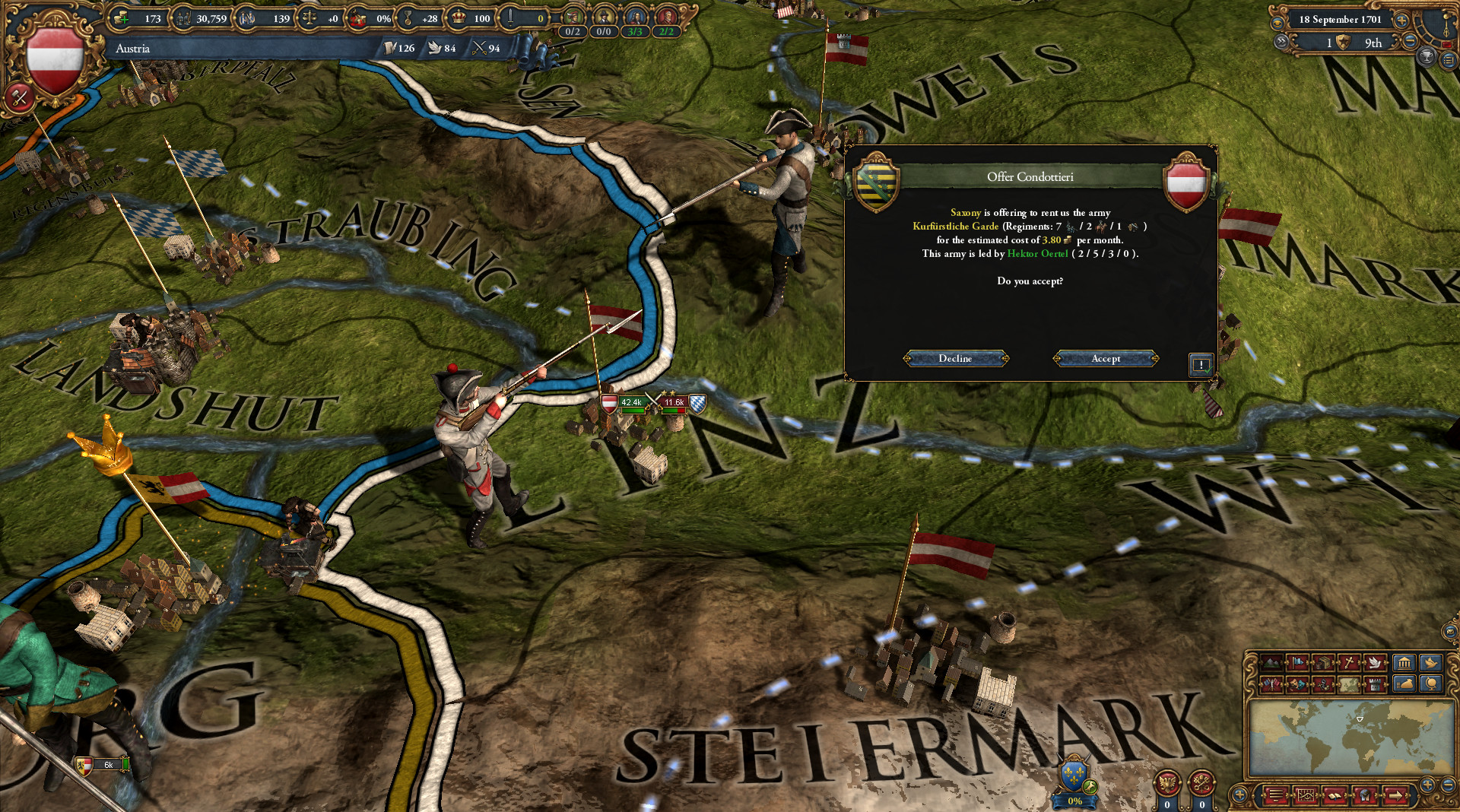 Europa Universalis IV Mare Nostrum Gameplay 2
