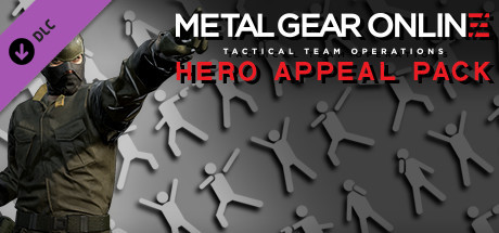 "METAL GEAR ONLINE ""HERO APPEAL PACK"""