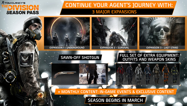 Tom Clancy's The Division™ - Season Pass