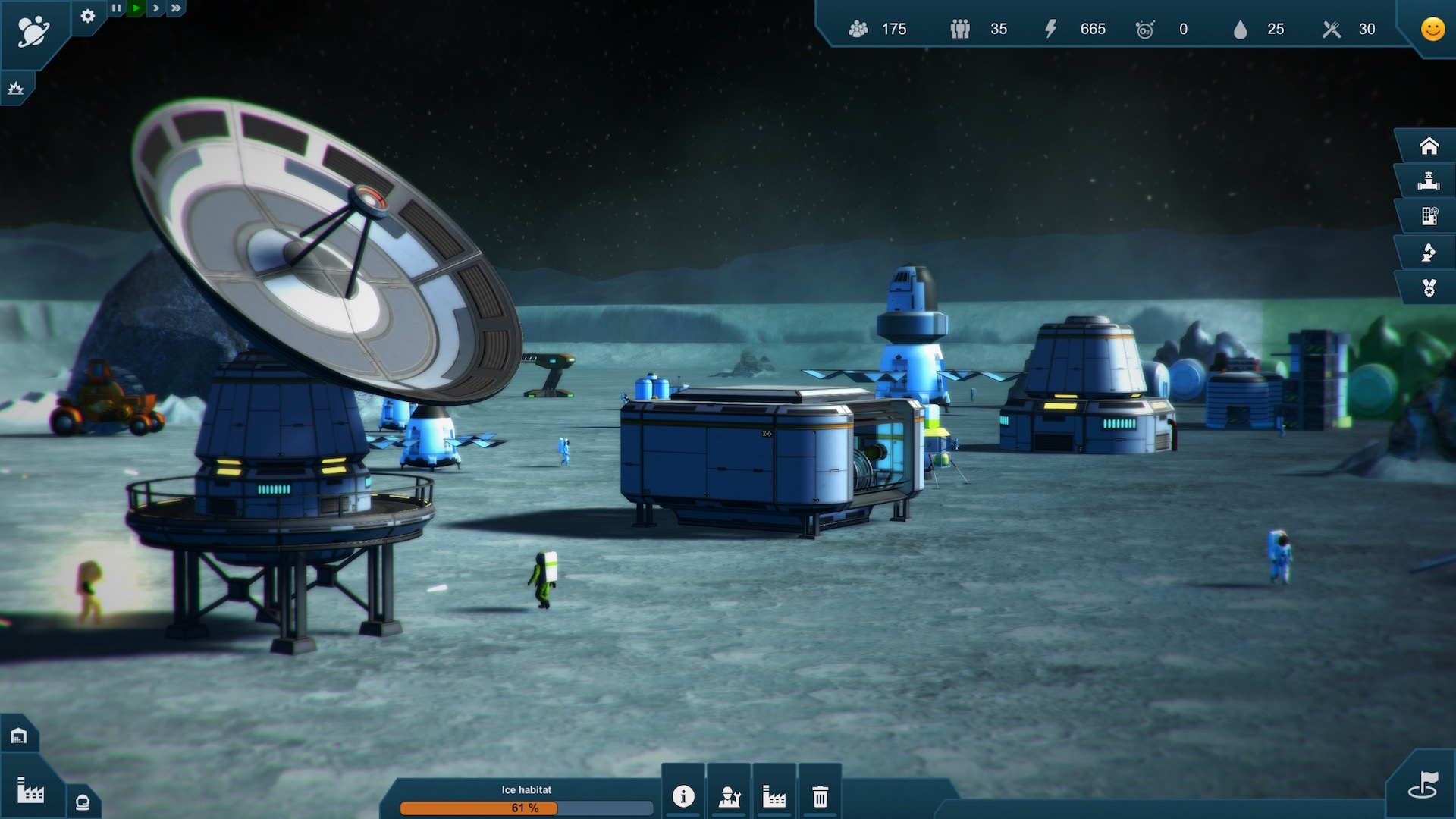 Earth Space Colonies Screenshot 2