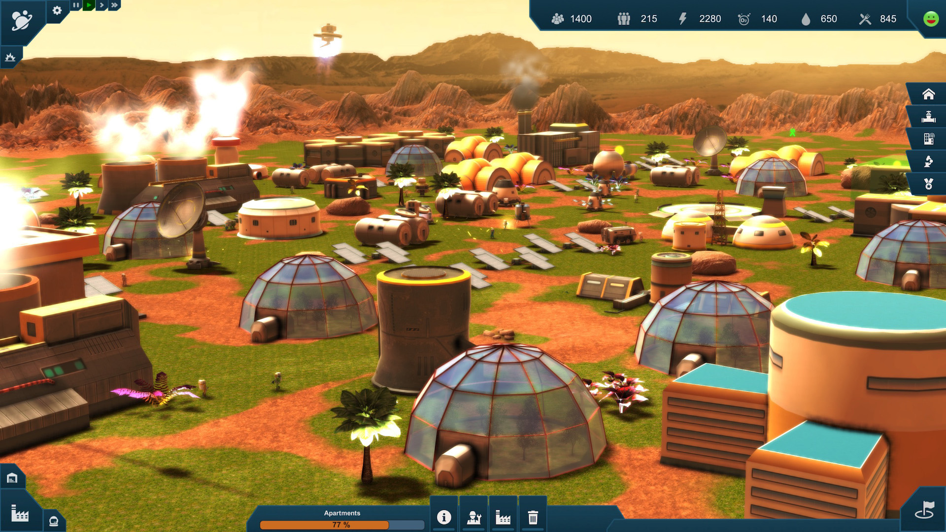 Earth Space Colonies (ENG) [L]