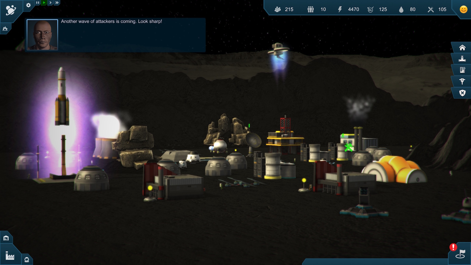 Earth Space Colonies Screenshot 3
