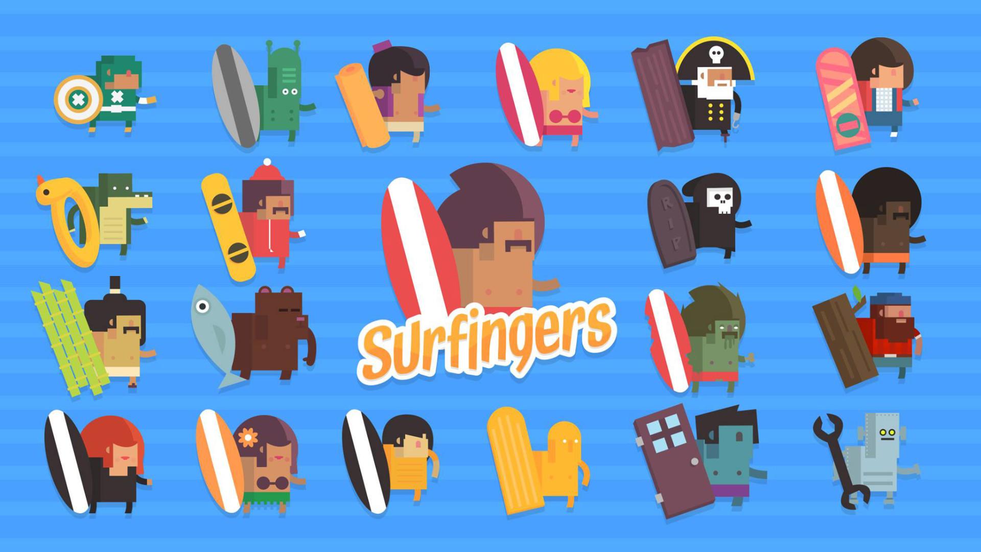 Surfingers screenshot