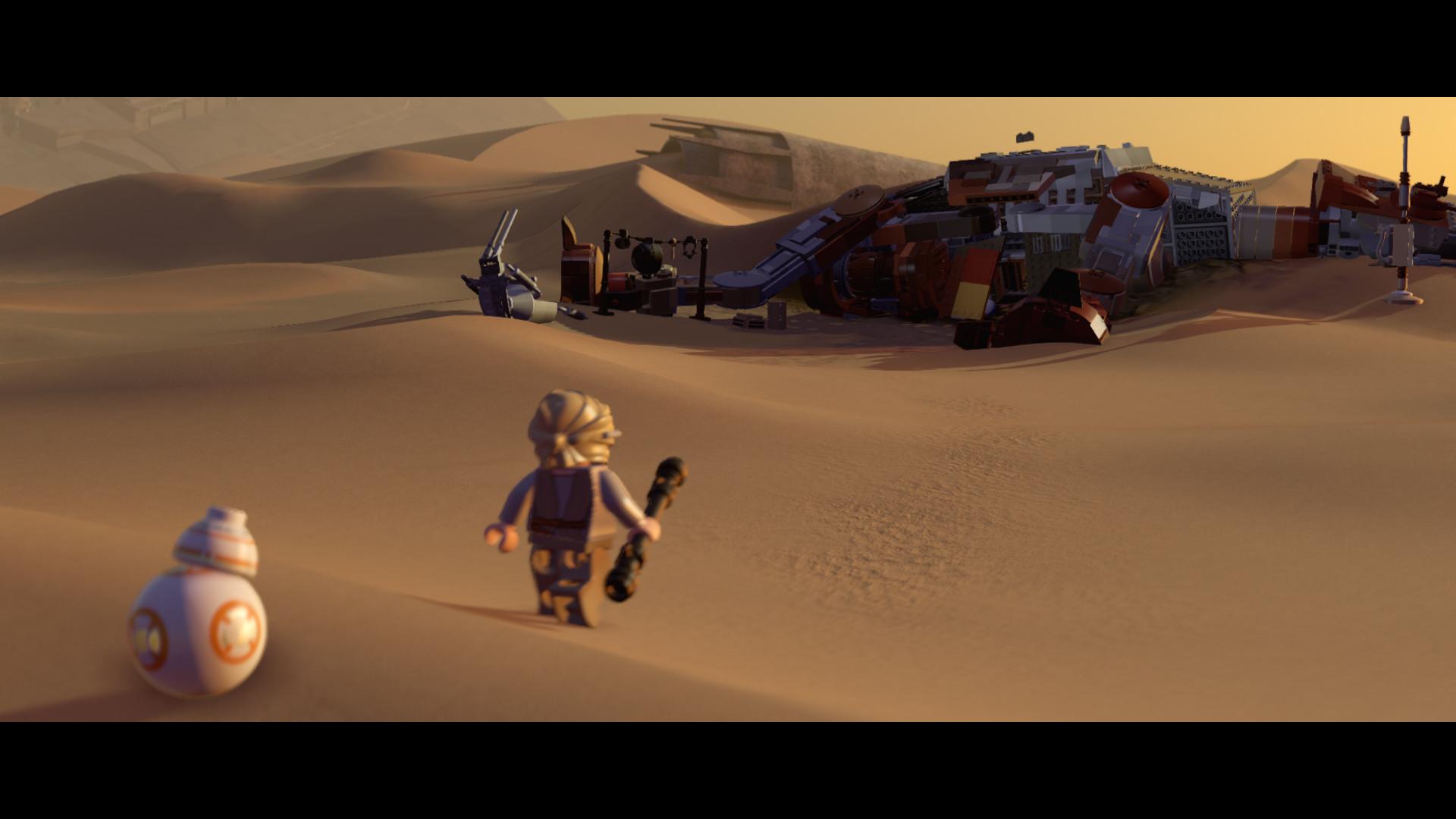 LEGO Star Wars: The Force Awakens / LEGO Звездные войны: Пробуждение Силы [2016|Rus]