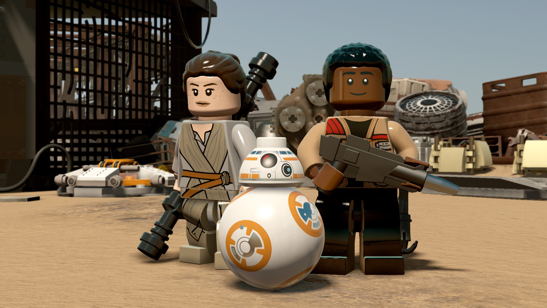 Image of LEGO STAR WARS The Force Awakens Repack PC Game Full Version Free Download
