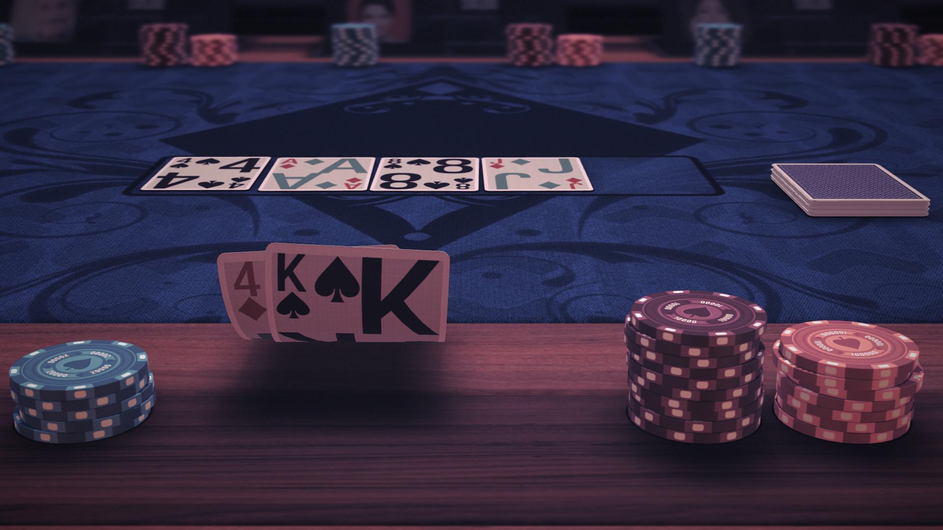 Pure Hold'em - Bold Card Deck screenshot