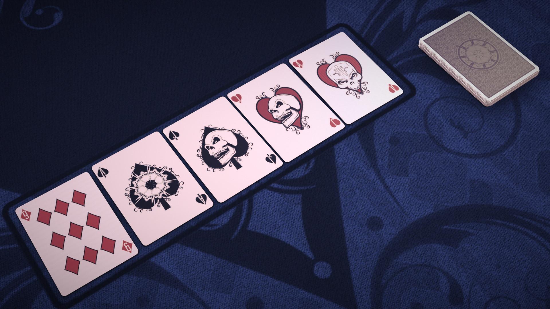 Pure Hold'em - Macabre Card Deck screenshot