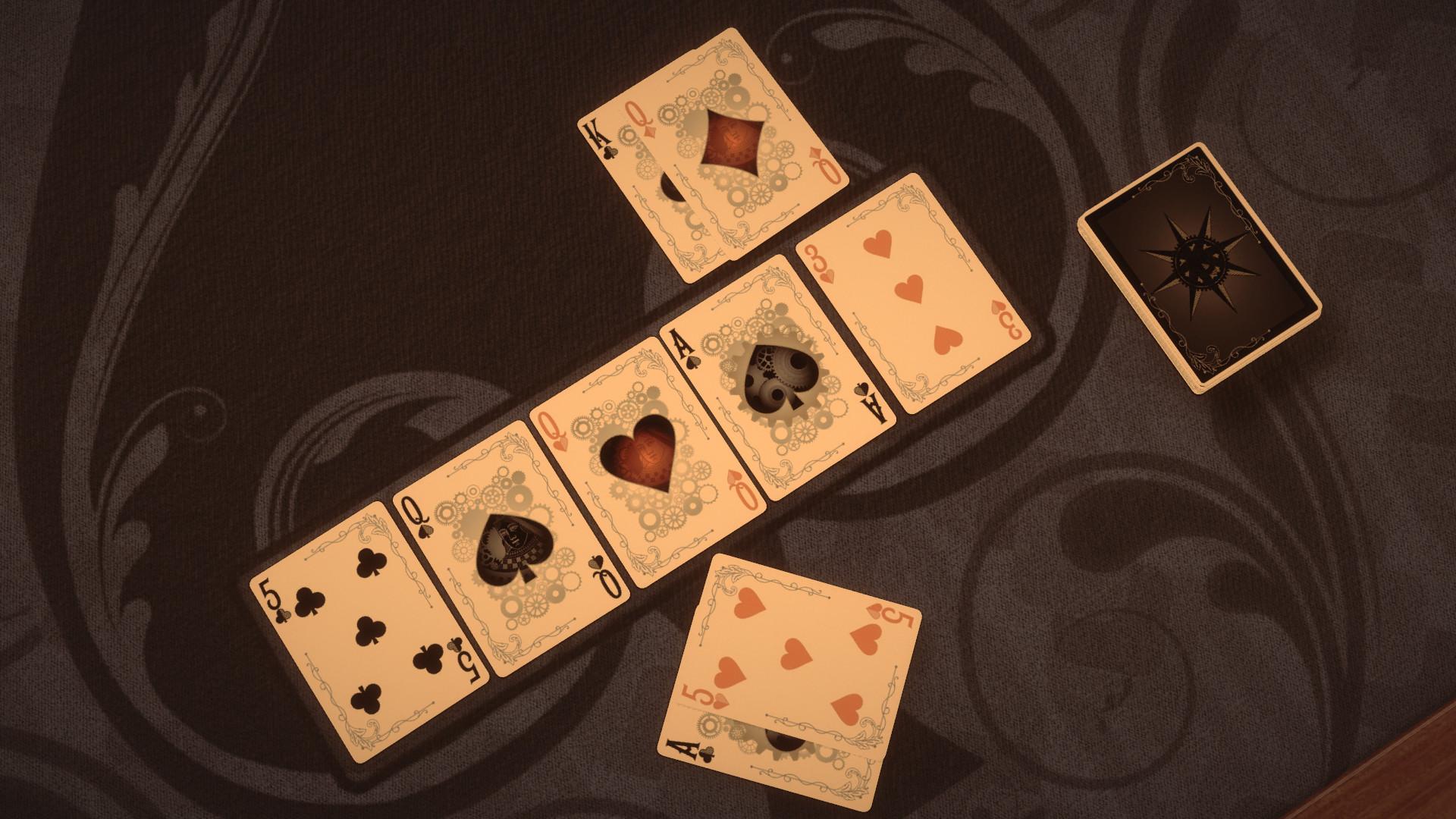 Pure Hold'em - Steampunk Card Deck screenshot