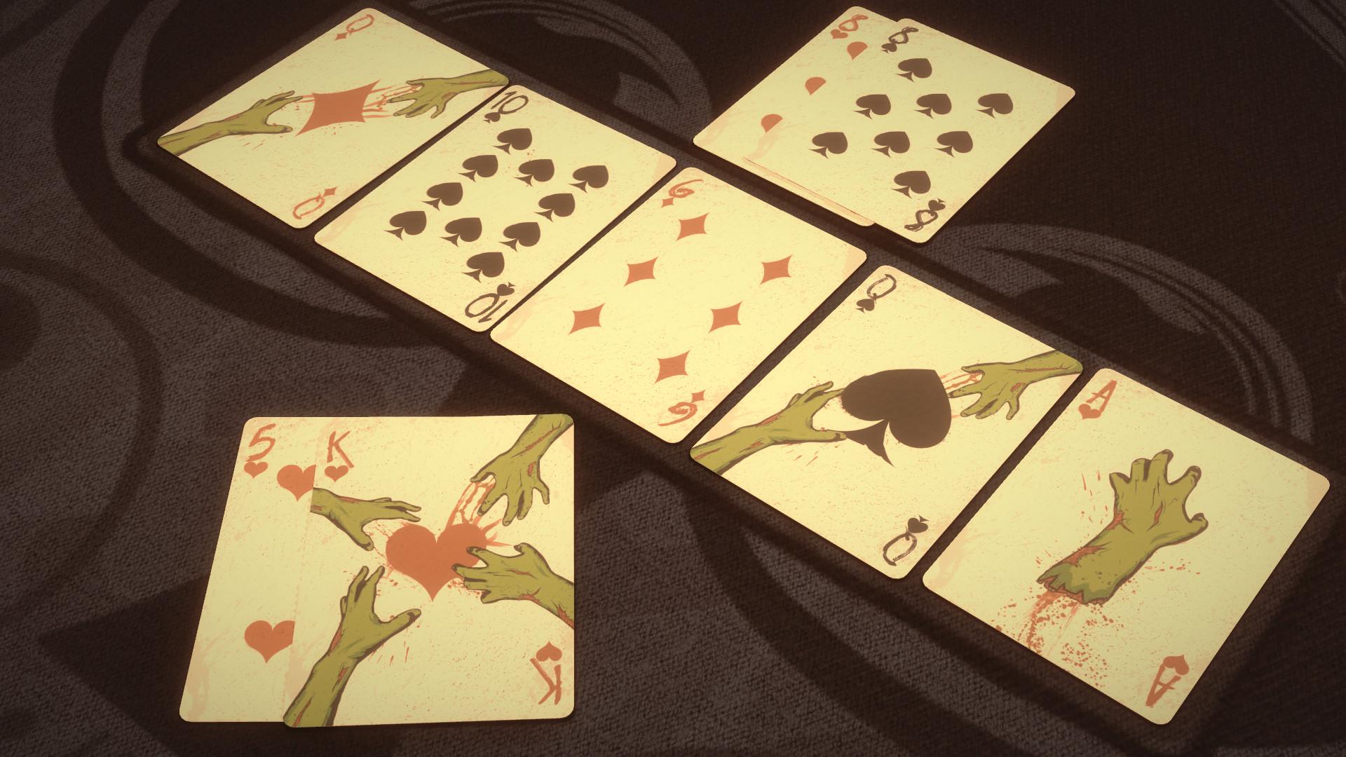 Pure Hold'em - Undead Card Deck screenshot