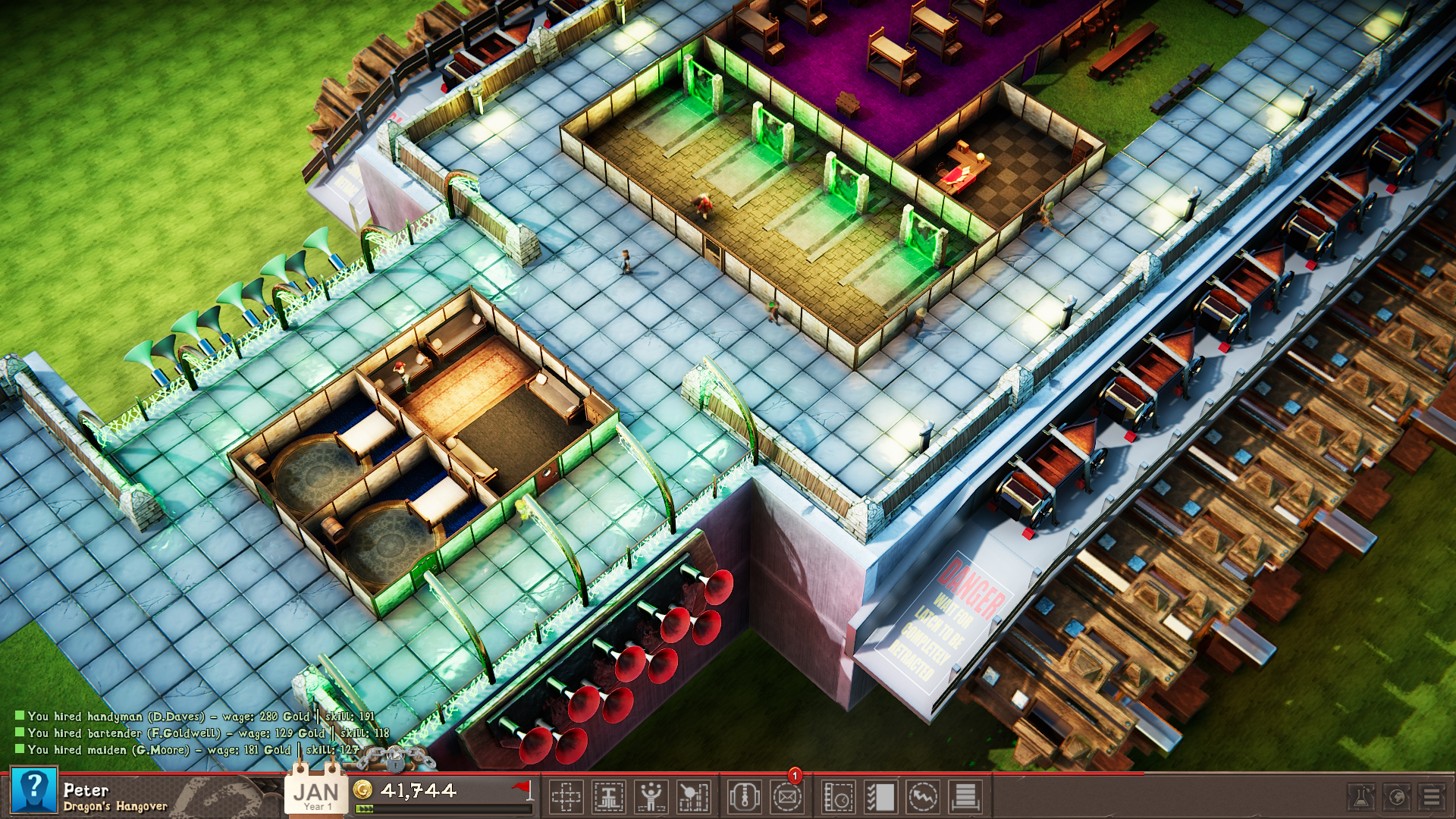 Tavern Tycoon - Dragon's Hangover screenshot