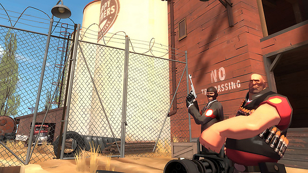 Team Fortress full screenshot