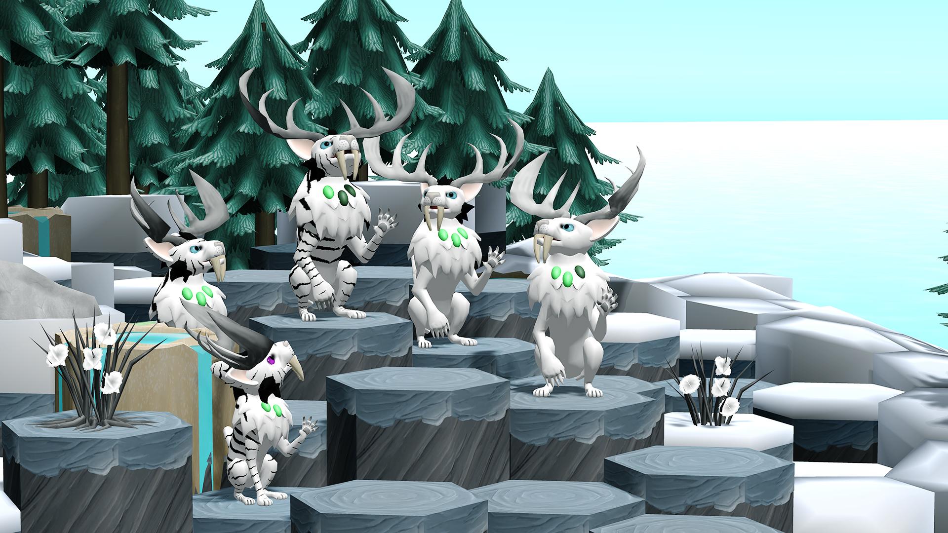 Niche - a genetics survival game screenshot
