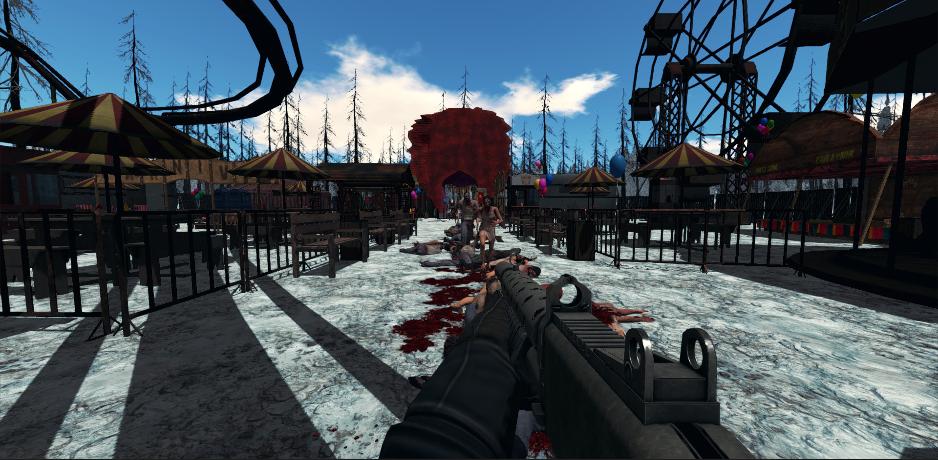 Survival Zombies The Inverted Evolution screenshot