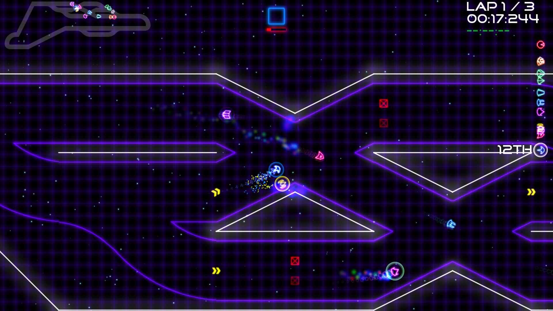 Super Laser  Racer screenshot