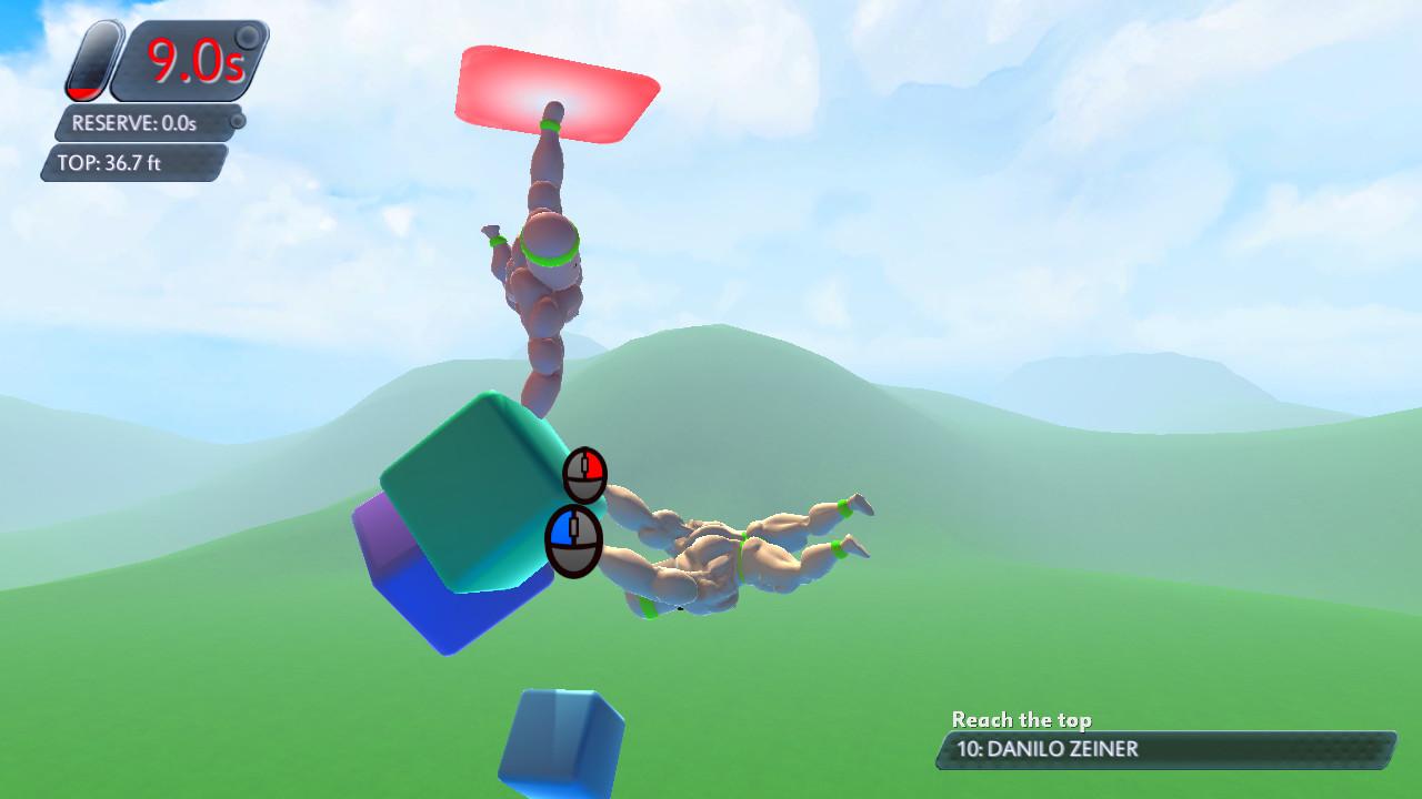 Mount Your Friends 3D: A Hard Man is Good to Climb screenshot