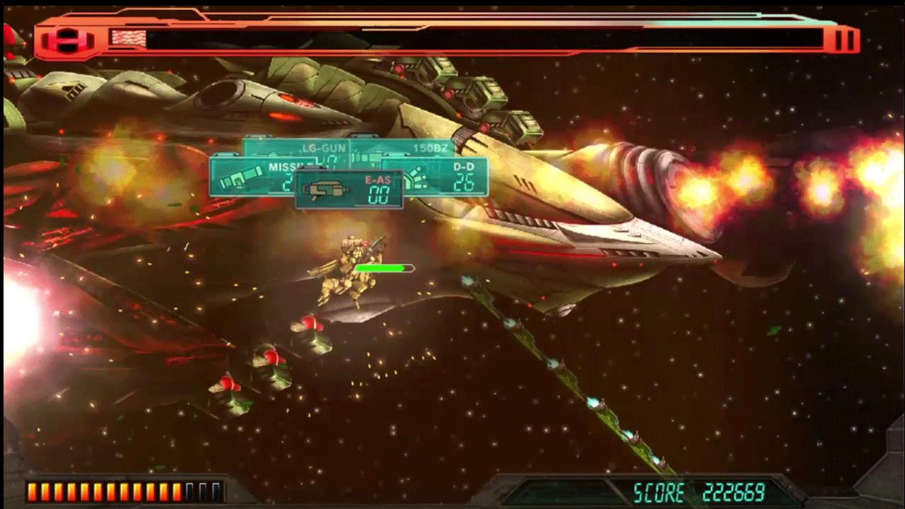 Assault Suit Leynos Screenshot 2