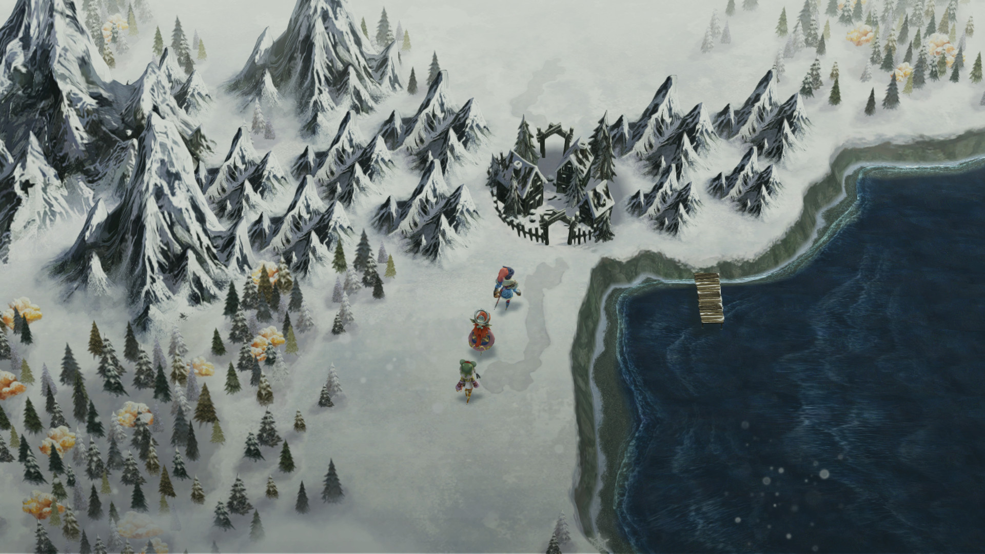 E3 2016: I Am Setsuna - Gameplay Trailer 1