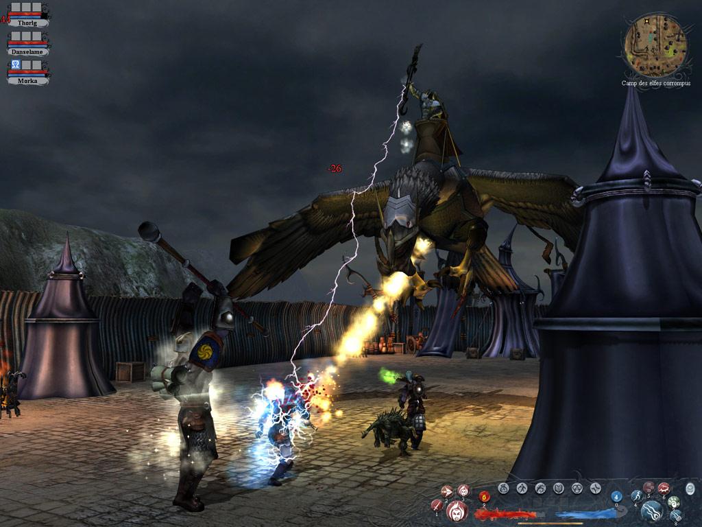 Silverfall screenshot
