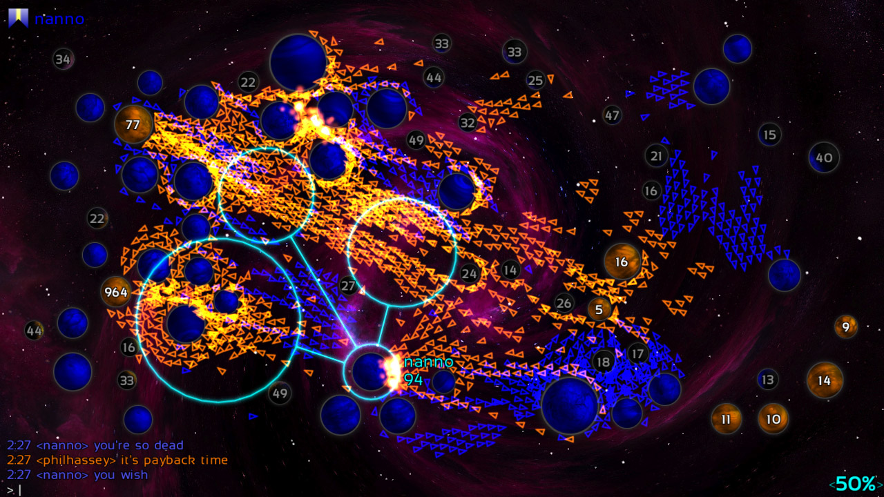 Galcon Fusion screenshot