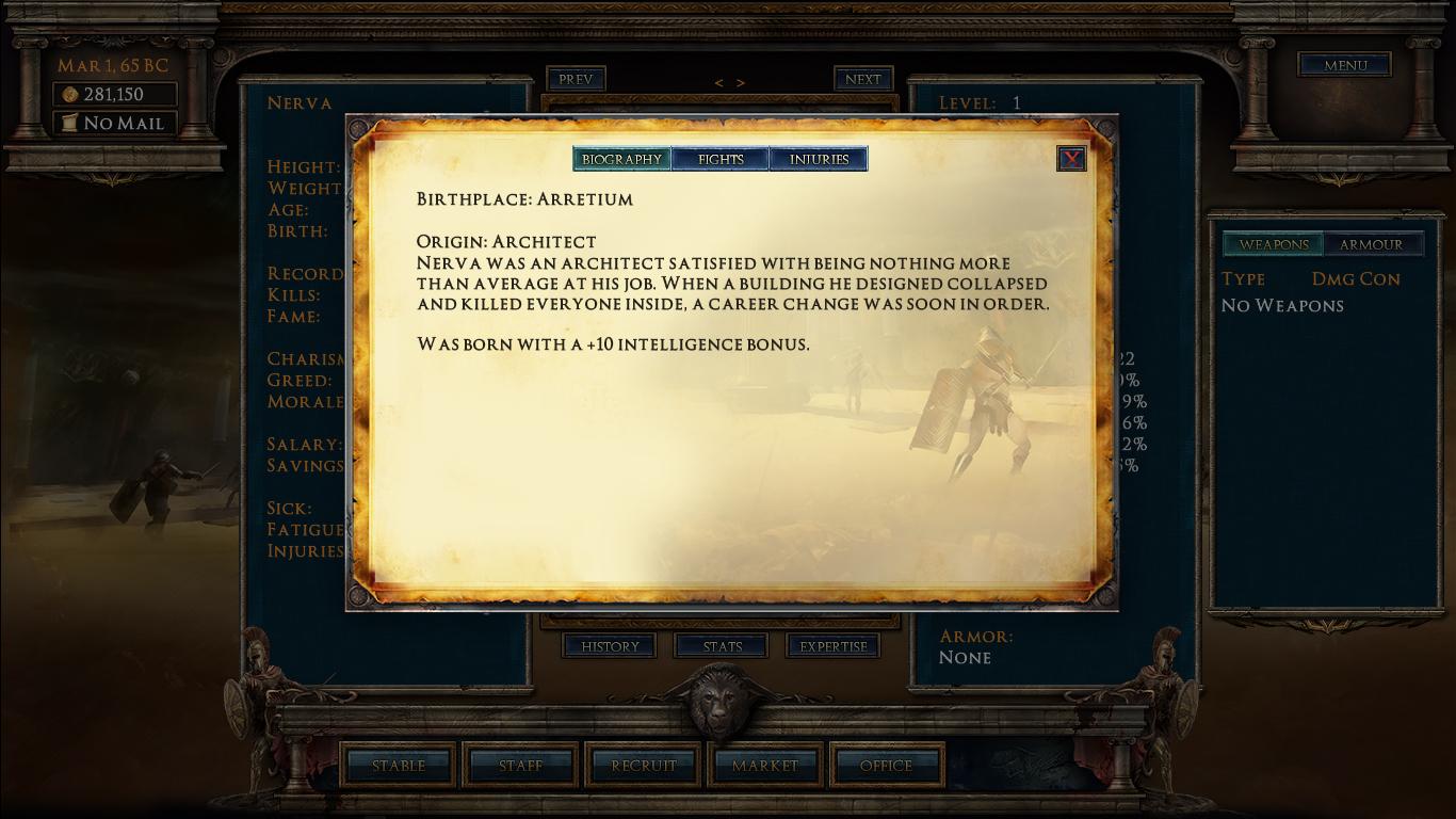 Age of Gladiators screenshot