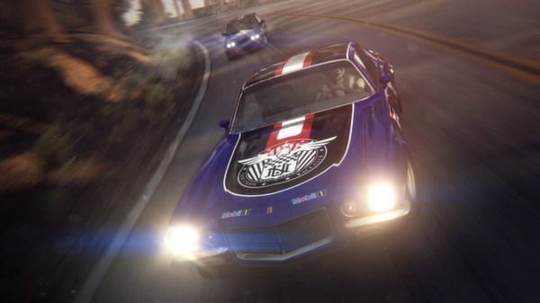 GRID 2 features spectacular graphics