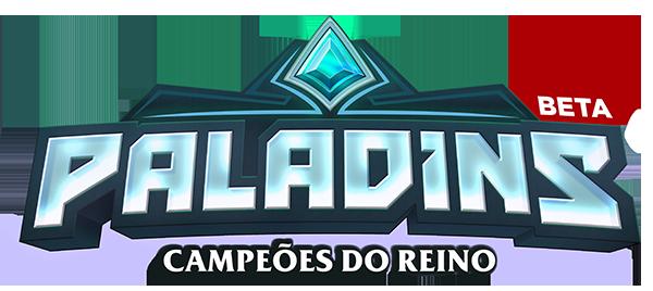 TOP 5 games FREE-TO-PLAY da STEAM Paladins_Logo_600x268_Portuguese