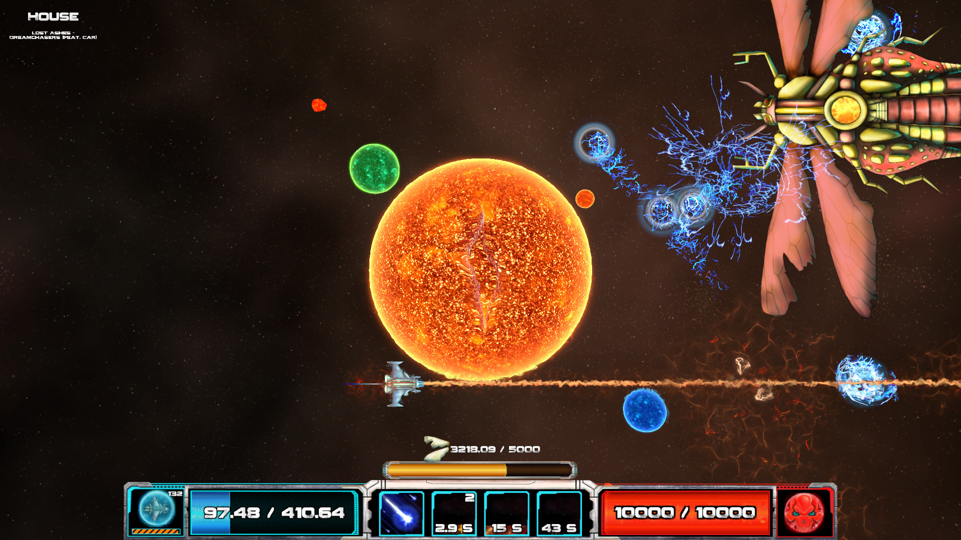 Asteroid Bounty Hunter screenshot