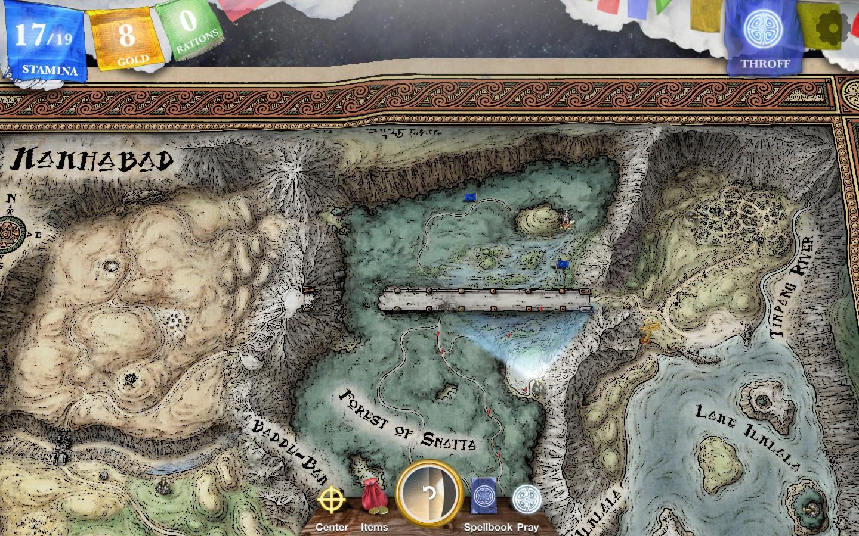 Sorcery! Part 3 screenshot