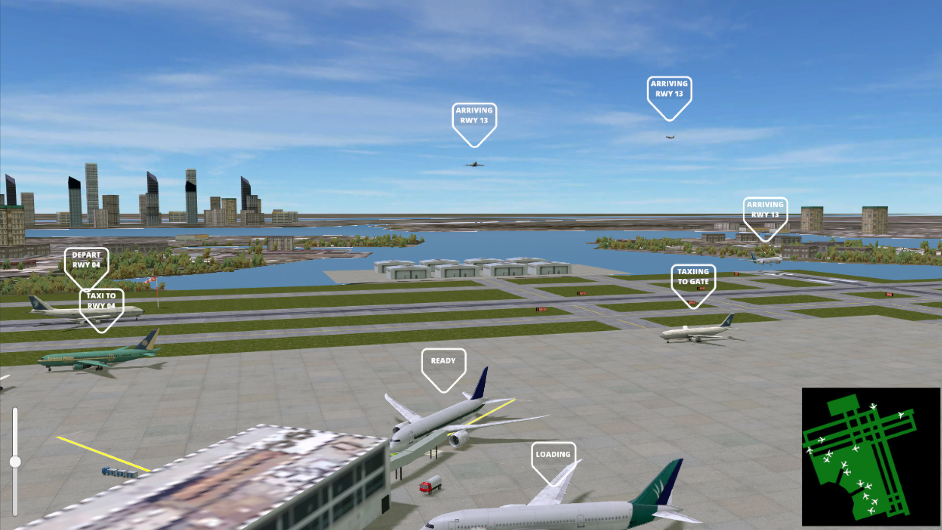 Airport Madness 3D Free Download Full Version PC Game