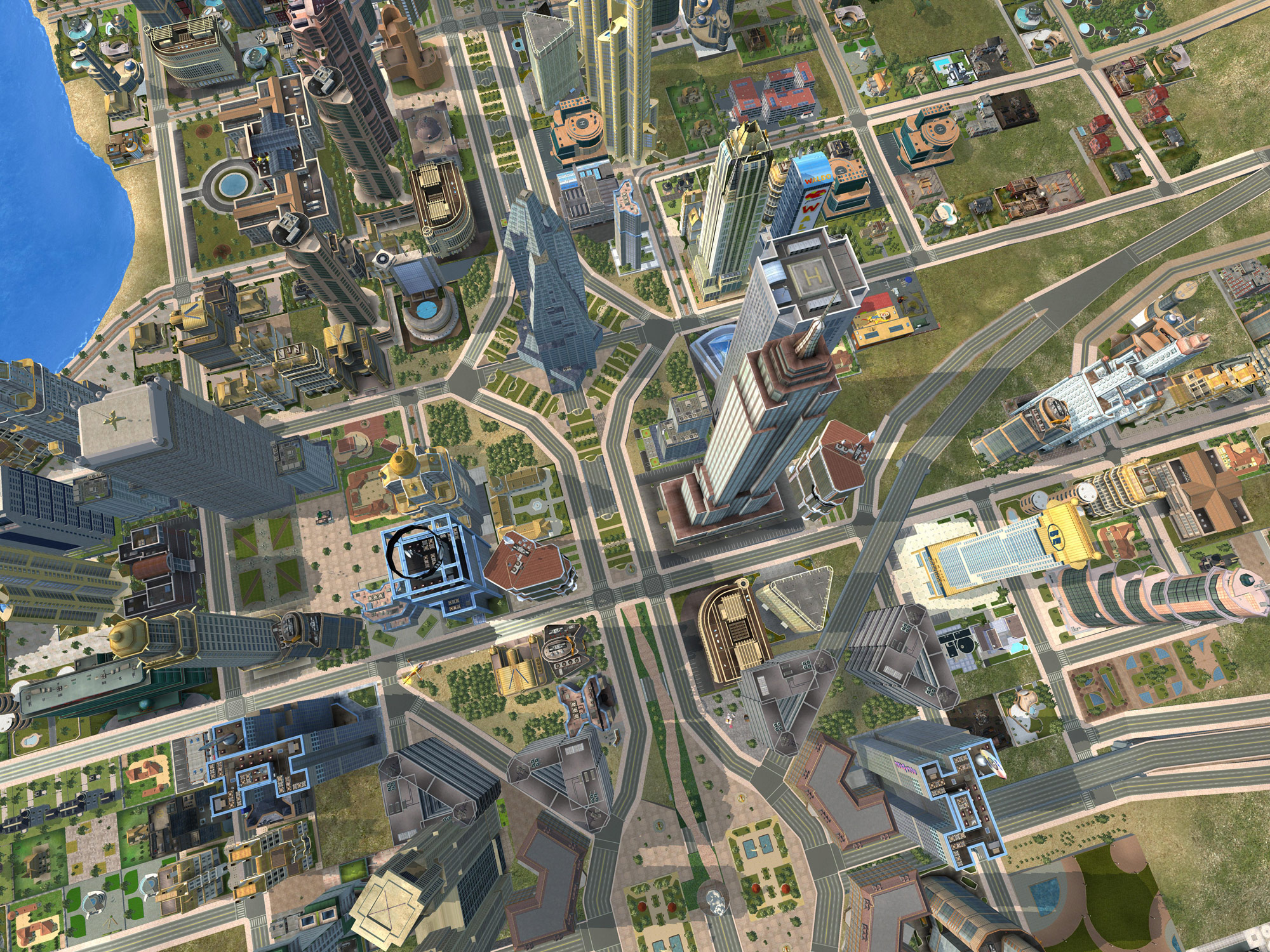 City Life 2008 screenshot