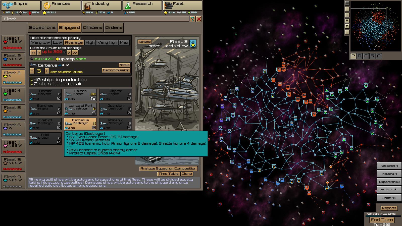 Stellar Monarch screenshot