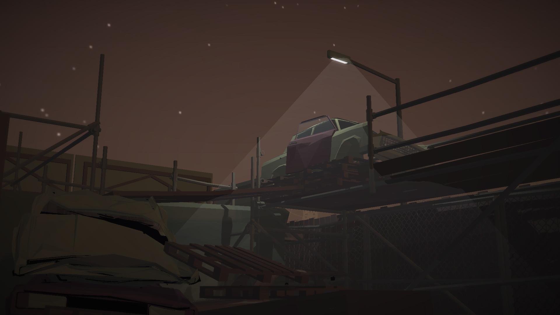 Jalopy - Road Trip Car Driving Simulator Indie Game screenshot