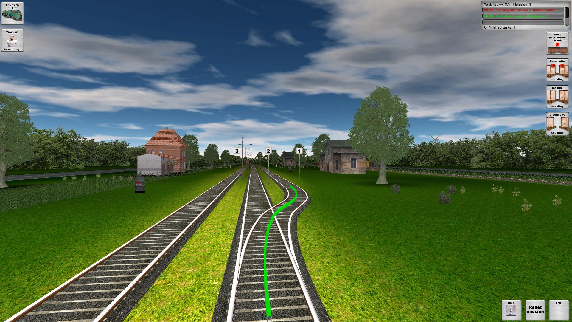 Rail Cargo Simulator screenshot
