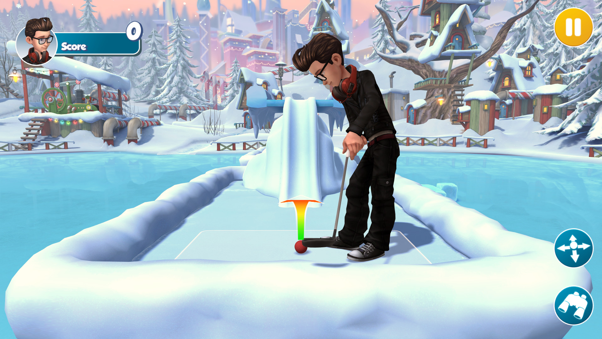 Infinite Mini Golf screenshot