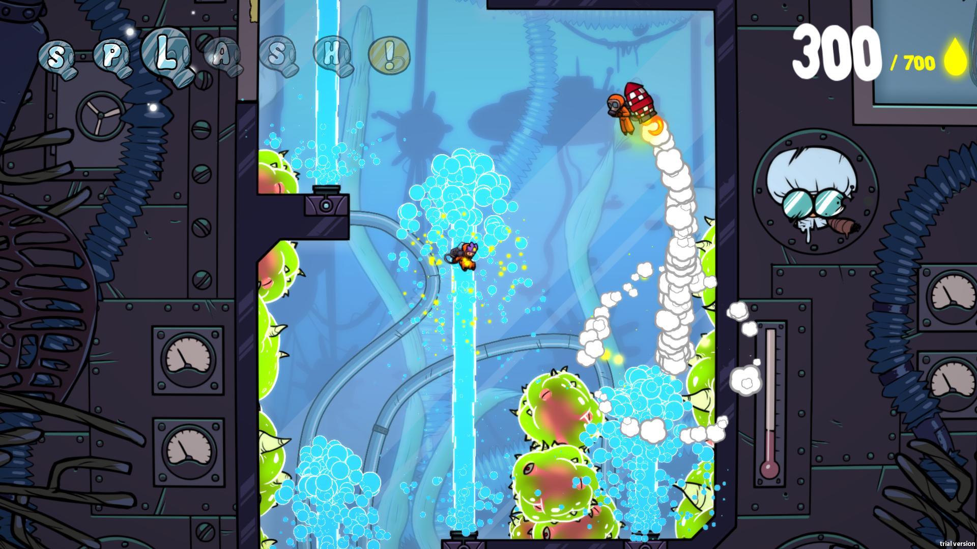Splasher Screenshot 2
