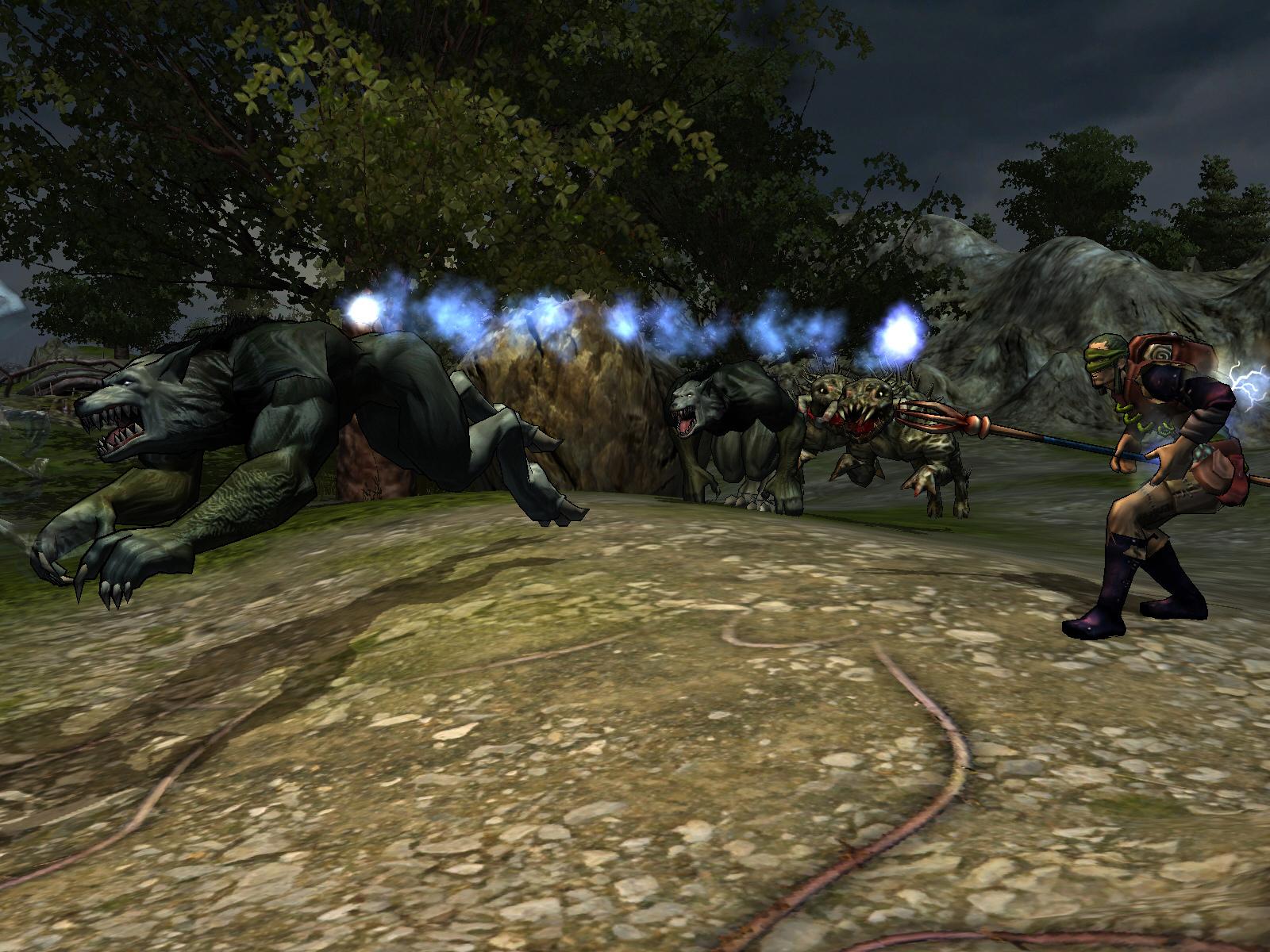 Silverfall: Earth Awakening screenshot