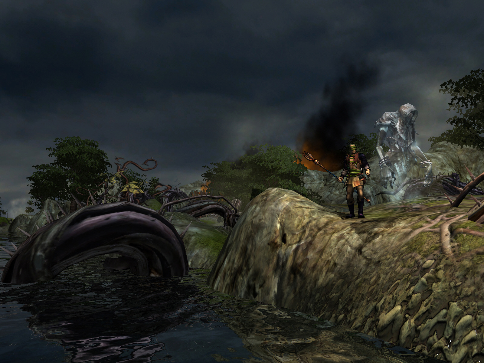 Silverfall: Earth Awakening screenshot