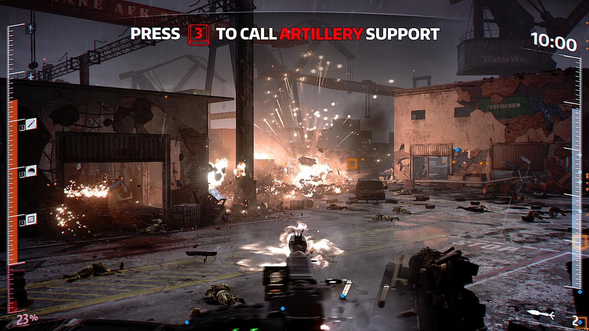 IS Defense Gameplay 2