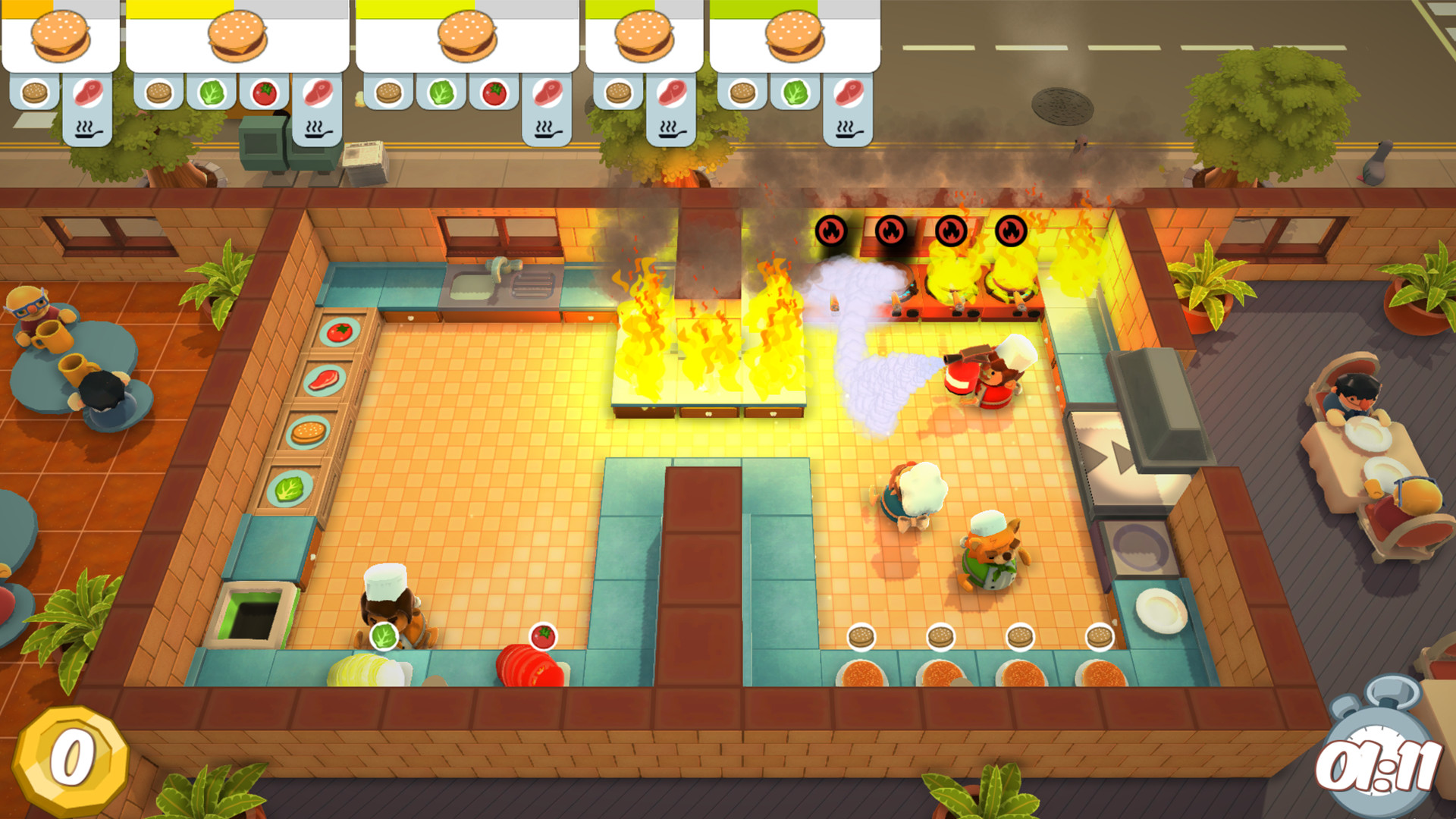 Image result for Overcooked: