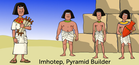 Imhotep, Pyramid Builder