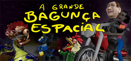 A grande bagunça espacial - The big space mess game image
